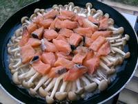奶油鮭魚鮮菇燉飯~30分就開飯!