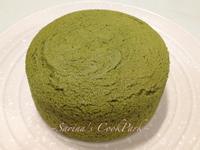 基礎海綿蛋糕(和風抹茶口味)