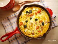 櫛瓜起司烘蛋❤簡易義式家常菜