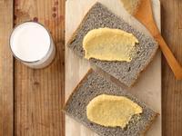 黑芝麻吐司 (麵包機作法)