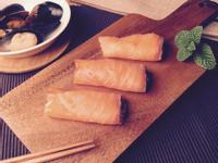 5分鐘料理挑戰-【煙燻鮭魚捲】
