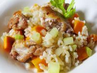 【厚生廚房】地瓜雞肉燉飯