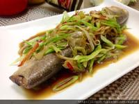 青蒜燒午仔魚