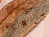 (免揉)無油無糖堅果歐式麵包