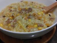 南瓜牛肉玉米粥(電鍋)