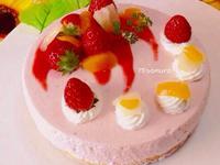 草莓優格慕絲蛋糕