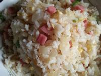 洋蔥火腿蛋炒飯