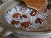 栗子炊飯&昆布高湯製做