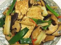 蔥燒鮮菇豆腐『維力炸醬』