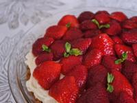 【甜點】馬斯卡彭草莓杏仁塔