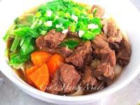 紅燒牛肉(豬肉)麵