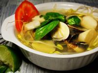 減肥美食!杏鮑菇洋蔥蛤蜊湯