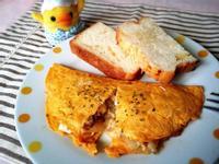 簡易版//起司菇菇歐姆蛋早午餐