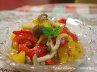 和風油醋甜椒(無油煙.野餐輕食)