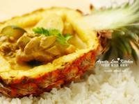 酸甜清爽好開胃♪ 泰式黃咖哩雞。