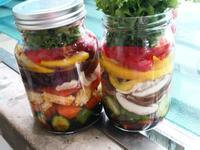 Jar salad  沙拉罐