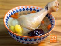 Mimi♥百合白果雞湯【電鍋料理】