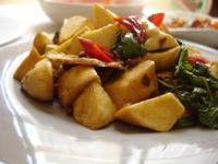 薑爆杏鮑菇~維力炸醬(素食)