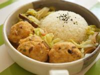 養生白菜燴豆腐丸子
