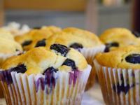 ★H-House微光小廚房★藍莓瑪芬蛋糕