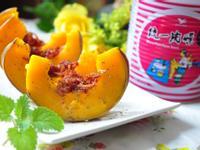 肉燥培根鑲金瓜【統一肉燥風味醬】