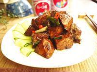 紅燒芋頭排骨[統一肉燥風味醬]