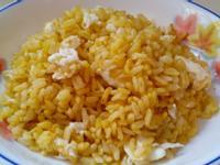 金黃糙米 蛋白炒飯