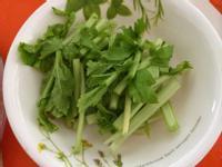 簡單素 醬油醃蘿蔔葉