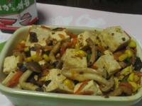豆腐炒玉米『維力炸醬』