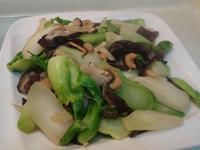 鮮炒香菇木耳娃娃菜