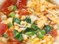 【厚生廚房】菇菇蕃茄蛋花湯