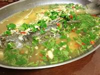 泰式蒸檸檬鮮魚
