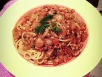 經典茄汁肉醬義大利麵