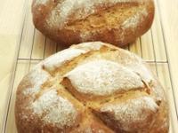 健康半麥麵包