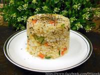 ♥憶柔蔬食♥隔夜飯如何變身素食美味炒飯?