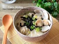 海苔雲吞鮮味湯【15分鐘快速上菜】