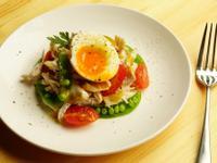 溫泉蛋雞肉沙拉