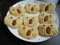 Y芬的小廚房--可愛貓頭鷹餅乾