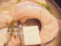 新手人妻必備-日式鮭魚味噌湯