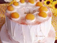 栗子戚風蛋糕(母親節快樂)