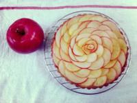 【玫瑰花蘋果乳酪塔】母親節的最佳禮物
