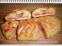 鞋帶編織~鳳梨培根披薩麵包