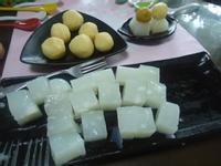 梅汁綠豆仁涼糕