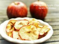 健康小吃 - 蘋果片