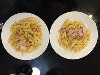 簡易午餐系列之正宗卡邦尼拉意大利麵