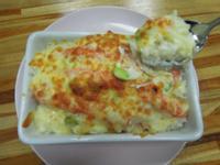 焗烤白醬蟹肉飯