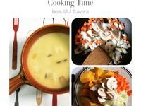 法式磨菇南瓜濃湯 (蛋奶素)
