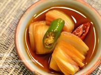 清脆酸甜的醃洋蔥,양파장아찌