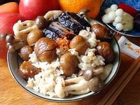 栗子菇菇炊飯(電鍋版 )