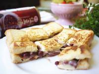 紅豆乳酪法國吐司「泰山紫米紅豆」